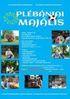 Plébániai majális plakát 2015