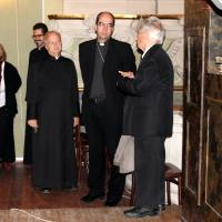 Püspöki vizitáció a Szent Anna templom kórusán, 2013. okt. 25.