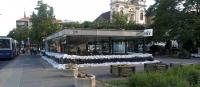 Batthyány tér árvíz idején, 2013. jún. 7.