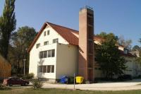 Csobánka, Közép-európai cserkészpark, főépület