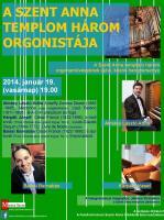 Három orgonista 2014.01.19
