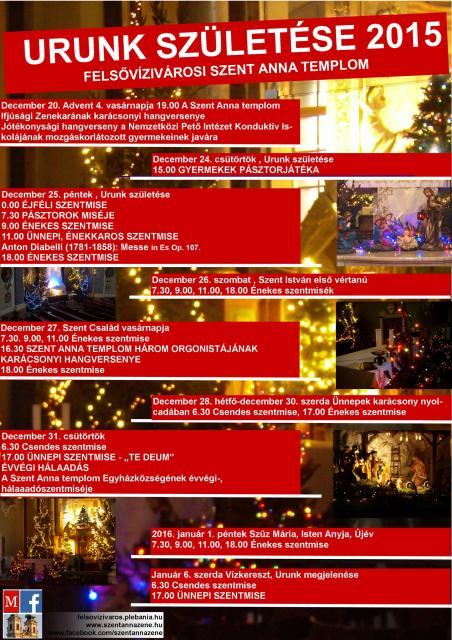 Karácsony 2015 plakát