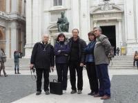 Loreto (Olaszország), téren a bazilika előtt, 2011. okt. 23.