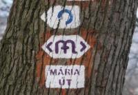 Mária út jelzés