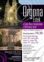 Orgonaestek a Szent Anna templomban 2013